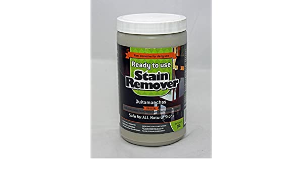 Ready to Use Stain Remover for Granite & Other Natural Stone - Oil, Grease & Tannin Stain Poultice 3lb. - - Amazon.com