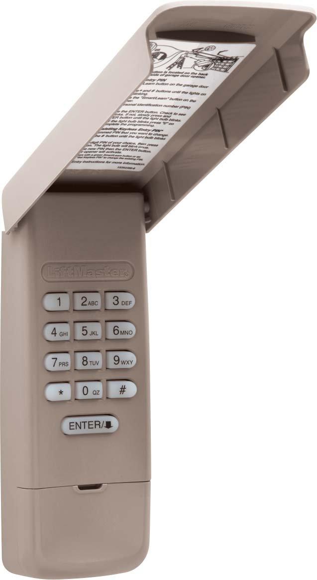 Liftmaster Garage Door Openers 877lm Wireless Keypad Storm Doors
