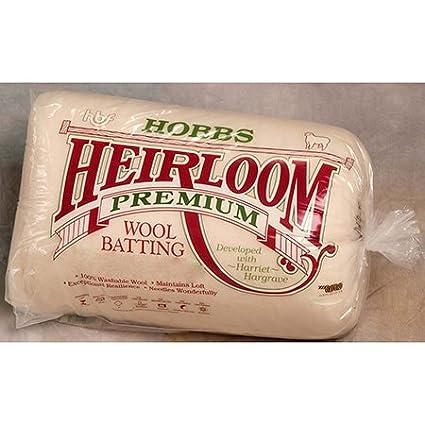 Hobbs WL120 Batting Heirloom Wool, 120 x 120 120 x 120