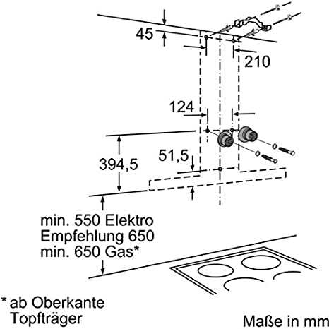 Siemens LC67BC532 - Campana (Canalizado/Recirculación, 690 m³/h, 44 Db, Montado en pared, LED, Acero inoxidable): 272.64: Amazon.es: Grandes electrodomésticos