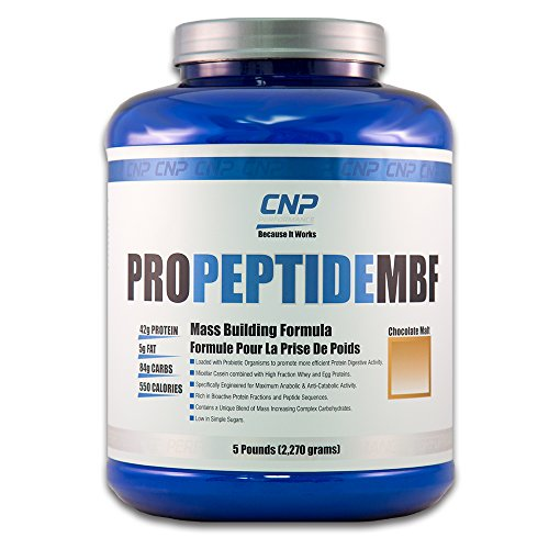 CNP ProMBF Mass Building Formula | Professional Grade Protein Powder | Weight Gainer