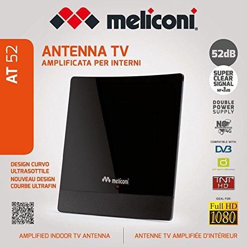 Meliconi at 52 Verstärkte TV-Zimmer-Antenne: Amazon.de: Elektronik