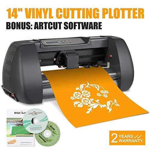 FINCOS Sign Making Kit 14 Inch Vinyl Cutter Plotter Desktop Artcut Software Design Cut by FINCOS (Image #5)