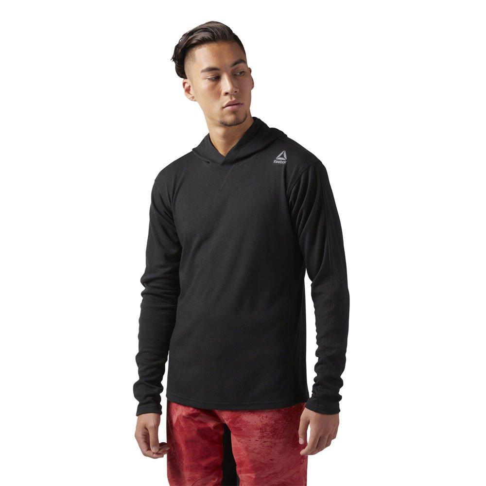 Reebok Herren Combat Lightweight Hoodie Sweatshirt