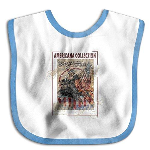 Americana Collection Graphic The United StateWaterproof Bibs The Baby Bibscomfort Teething Bibs Christopher Macadam (Macadam Collection)