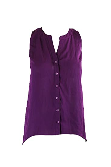 Amazon.com  Inc International Concepts Purple Sleeveless Knit-Back ...