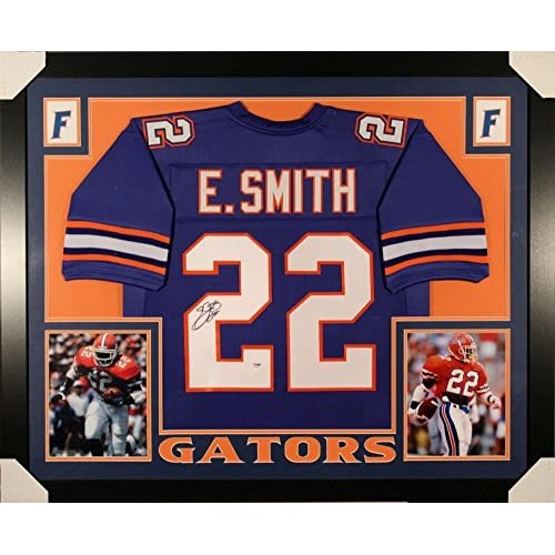 sneakers for cheap d7988 943e5 Emmitt Smith Signed Florida Gators 35