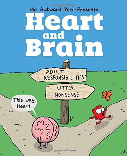 Heart and Brain: An Awkward Yeti Collection [The Awkward Yeti - Nick Seluk] (Tapa Blanda)