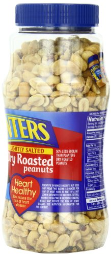029000076501 - Planters Dry Roasted Peanuts Lightly Salted 16 oz (Pack of 12) carousel main 6
