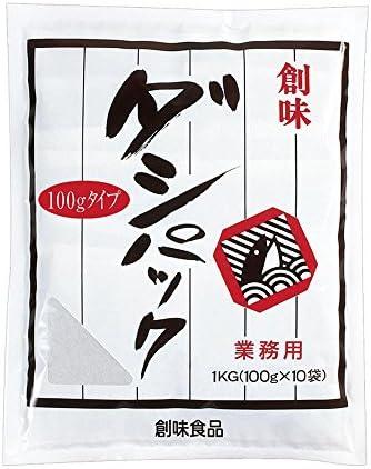 【常温】 創味食品 ダシパック 1kg(100g×10袋) 業務用 だし