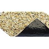 Oase - Foglio in PVC, rivestimento da esterno, motivo: pavimento in pietra, larghezza: 60 cm