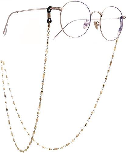 Sunglass Strap Sunglasses Strap Glasses Strap in Black-Gold rope
