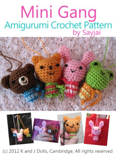 Amazon Mini Gang Amigurumi Crochet Pattern Easy Crochet Doll