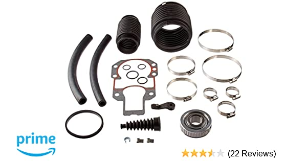 MerCruiser Alpha 1 Gen 1 Transom Seal Bearing Bellows Kit 30-803097T1 SEI 9A-108