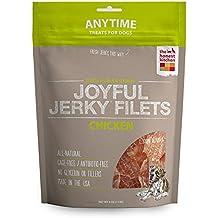 The Honest Kitchen Joyful Jerky: Natural Human Grade Dehydrated Jerky Dog Treats, Chicken Filets, 4 oz