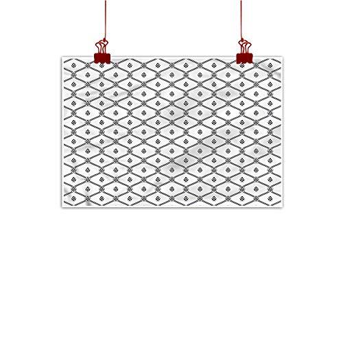 Mangooly Wall Art Print Home Decor Geometric,Nautical Logo Pattern 24
