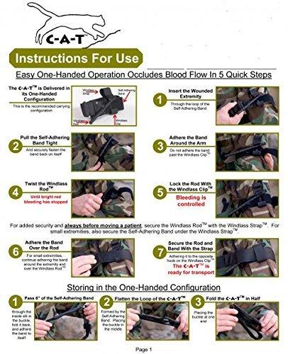 Combat Application Tourniquet C-A-T Gen 7 2