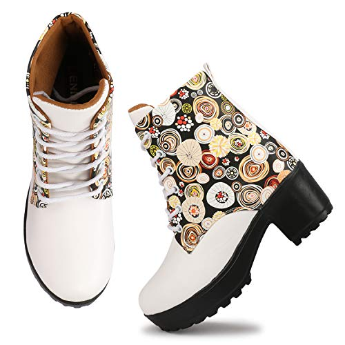 Denill Latest Collection Comfortable And Stylish Synthetic Leather Ankle Length Long Boots for Womens and Girls