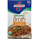 Swanson Organic Free-Range Chicken Broth, 48 oz. (Pack of 8)