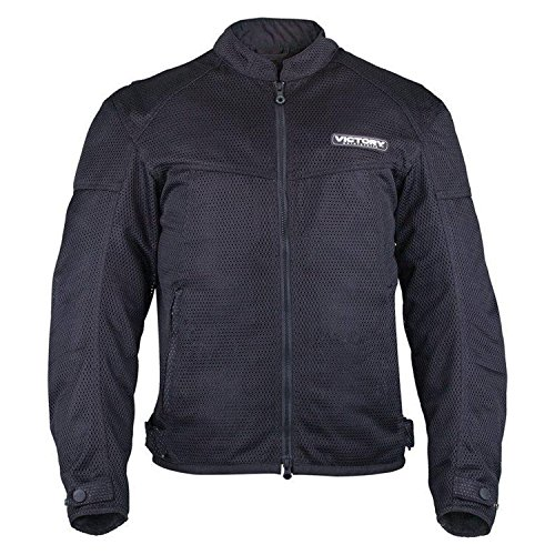 Victory Motorcycle New OEM Men's Black Lite Mesh Riding Jacket, Small, 286383702