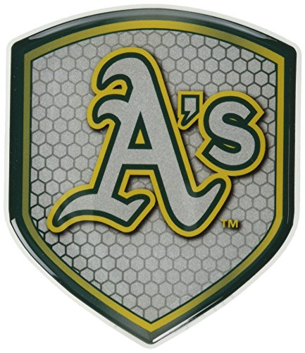 MLB Oakland Athletics Team Shield Automobile Reflector ()