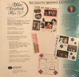 The Creative Memories Collection 12x12 White Scrapbook Pages Refill RCM-12S