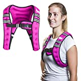 SWEATFLIX Weighted Body Vest for Men & Women: BodyRock Weight Vests for Training, Running, Crossfit or Walking - Fitness Gear & Workout Equipment - 6 lbs
