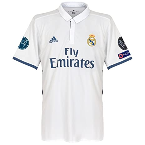 Player Print - adidas Performance Real Madrid Home Champions ...