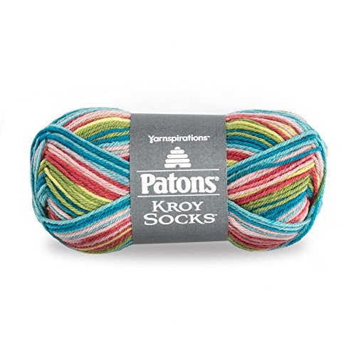 Patons  Kroy Socks Yarn - (1) Super Fine Gauge  - 1.75 oz -  Meadow  -   For Crochet, Knitting & Crafting ()