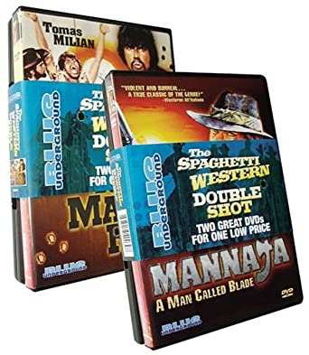 Amazon Com Spaghetti Western Double Shot Mannaja Run Man Run Steiner John Movies Tv