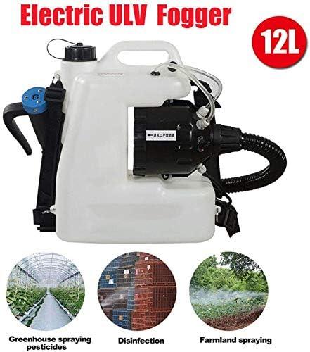 Nebulizador pulverizador ULV en frío Stock de nebulización 110V Bomba de pulverizadoras en césped y jardín, 3 galones, Blanca, con la Parte Posterior de la Correa: Amazon.es: Deportes y aire libre