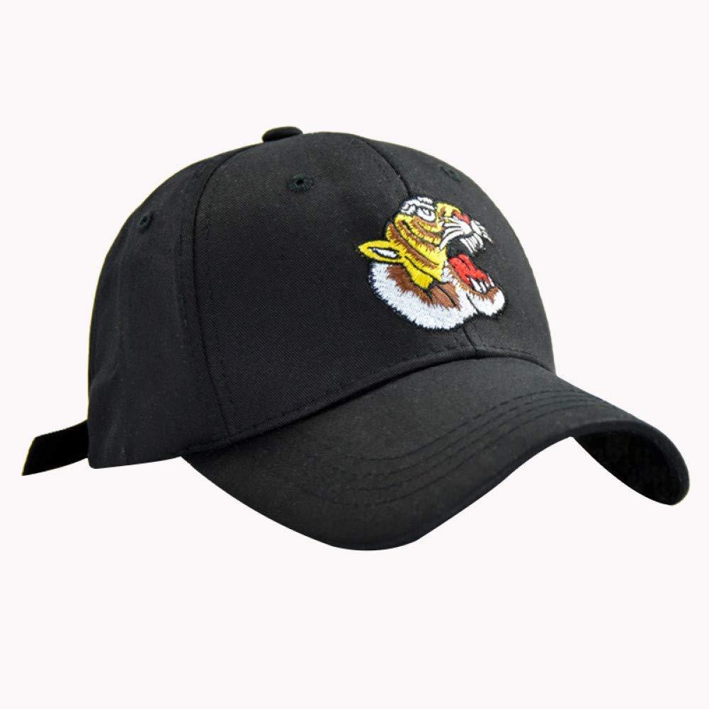 Black Outdoor Sports hat Baseball Cap Embroidery Baseball Cap Men Black Trucker Hat Bone Summer Fashion Women Cotton Hip Hop Caps GrljdHat
