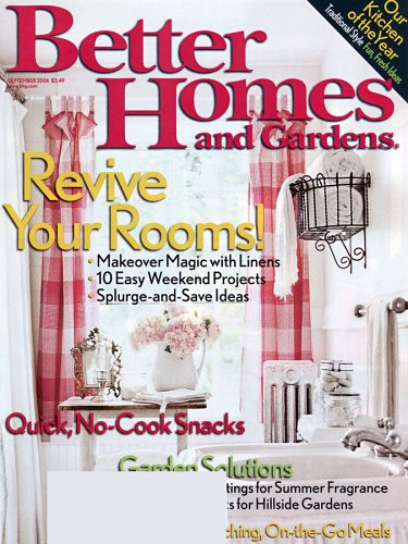 better homes gardens amazoncom magazines - Free Home Improvement Magazines