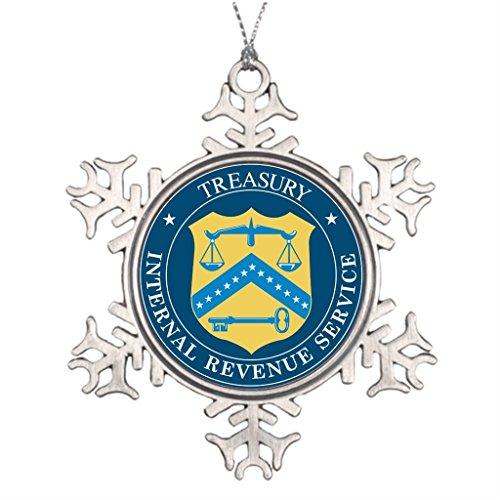 Bang Angel Best Friend Snowflake Ornaments Internal Revenue Service IRS Snowman Snowflake Ornament (Snowflake Snowman Ornament)