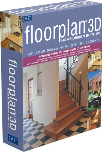 Floorplan 3D Home Design Suite 8.0: Amazon.co.uk: Software