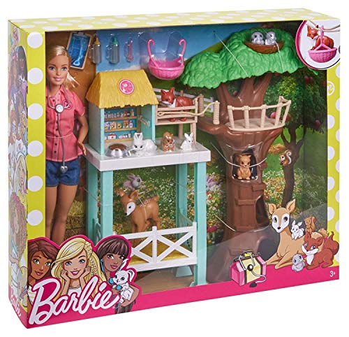 Barbie Animal Rescuer Doll & Playset from Barbie