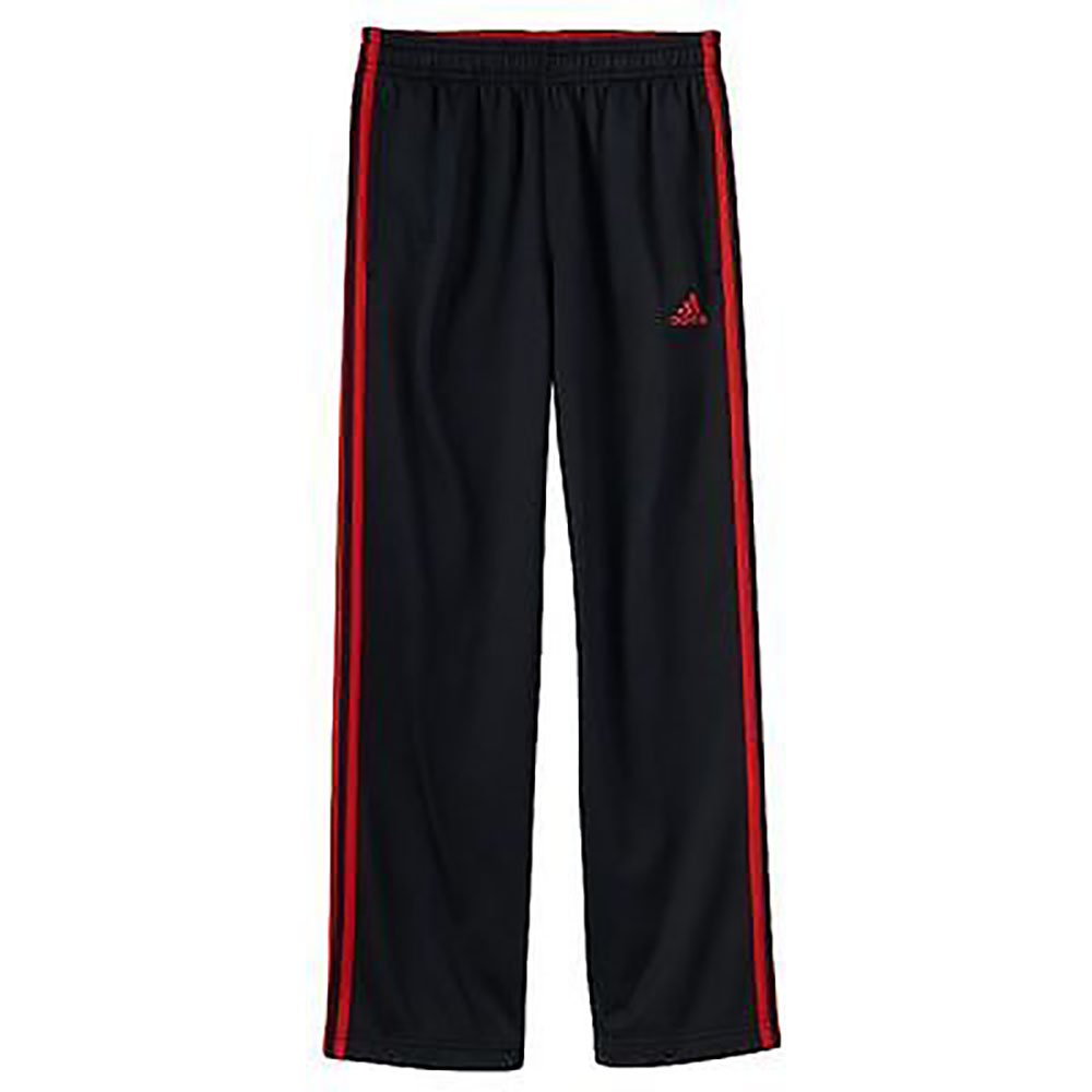 Lined Active Pants Size 8 Thru 18 Small 8, Black-Red adidas Boys Athletic Pants