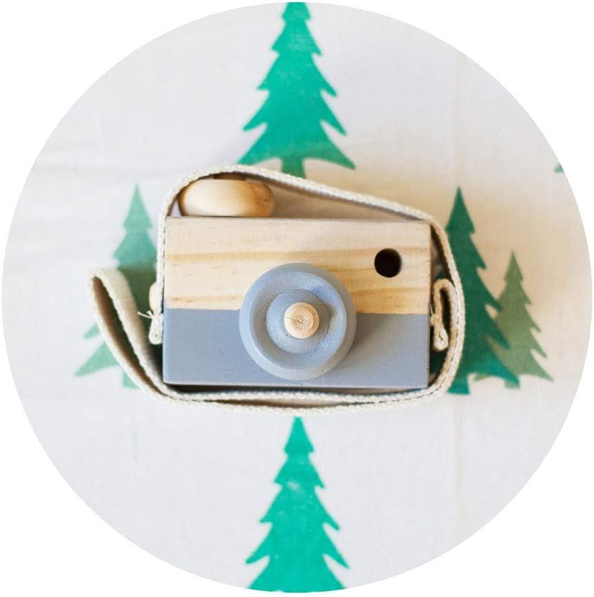 BoburyL Stile Nordico Hanging Macchina Fotografica in Legno Giocattoli per Bambini Bambini al Sicuro Giocattoli educativi della casa di Modo Fotografia Prop Decor Gifts