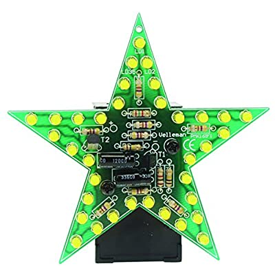 Velleman MK169Y Flashing Yellow Led Star: Industrial & Scientific