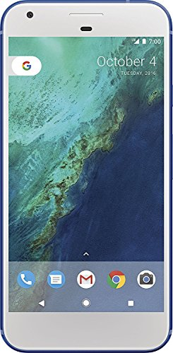 Google G-2PW2100-021-C Pixel XL 32GB Unlocked Phone, Really Blue, 5.5 - (Certified Refurbished)