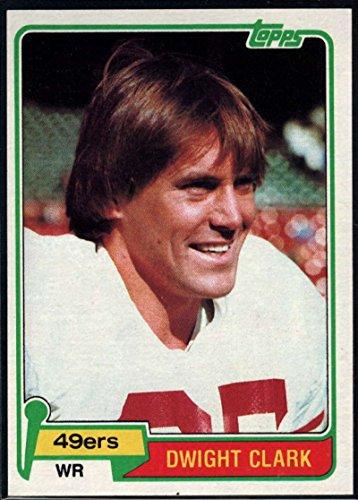 Dwight Clark Football - Football NFL 1981 Topps #422 Dwight Clark RC 49ers