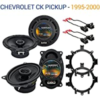 Chevy CK Pickup 1995-2000 Factory Speaker Upgrade Harmony R5 R46 Package New