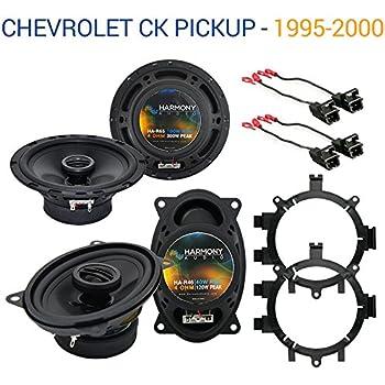 1995 chevy 2500 speaker size