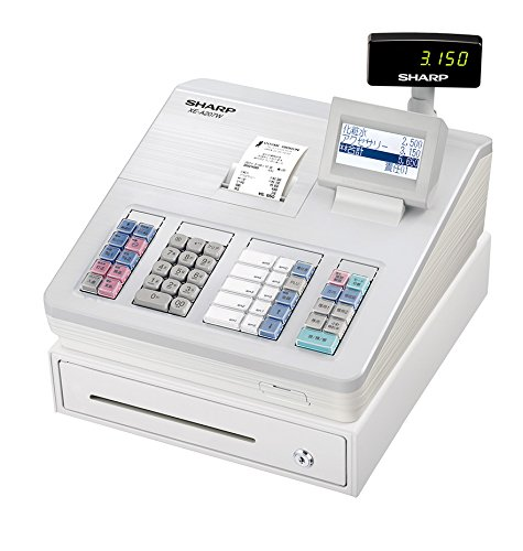 シャープ 電子レジスター ホワイト系 XE-A207W-W B00NSLAJEU ホワイト ホワイト