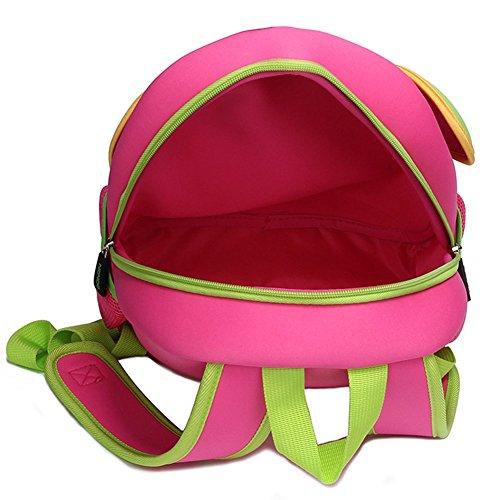 Waterproof Alnaue Pink3 Cute Backpack Kids Toddler Preschool Bag School Children Animal Cat 3D qArAaFx7Ew
