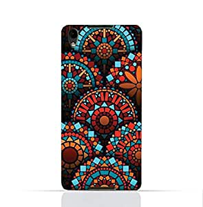 Blackberry Dtek 50 TPU Silicone Case With Geometrical Madalas Pattern