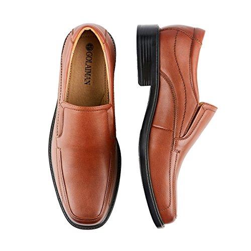 Black Leader Brown2 Loafer Dress Formal Classic Slip Shoes On Men's Rdw7FqR