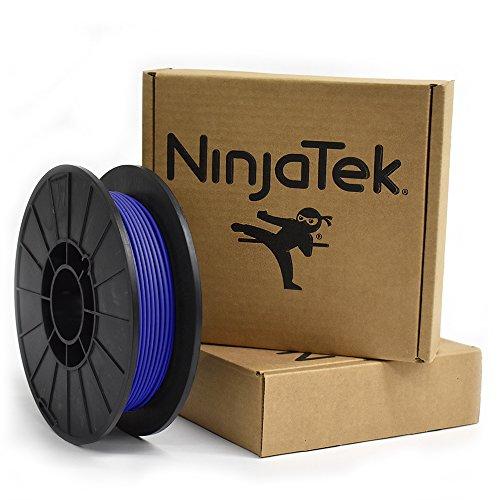 NinjaTek 3DCH02129005 NinjaTek Cheetah TPU Filament, 3.00mm, Tpe, .5kg,  Sapphire (Blue) (Pack of 1)