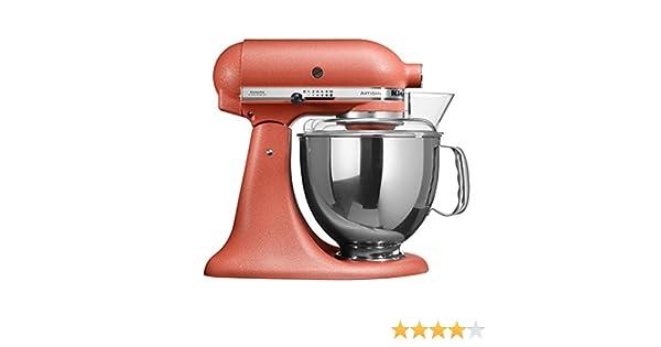 KitchenAid 5KSM150 - Robot de cocina (Terracotta, Acero inoxidable, 50/60 Hz): Amazon.es: Hogar