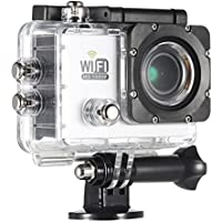 Andoer WRF8585074077918IU Wi-Fi Action Sports Camera DV Cam Full HD 2.0 LCD 12MP 1080P 30FPS 140 Degree Wide Lens Waterproof for Car DVR FPV PC Camera Diving Bicycle Outdoor Activity